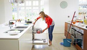 Faire le ménage à la maison